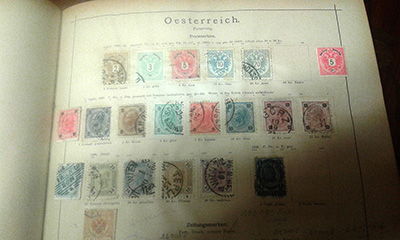 Les collections de timbres